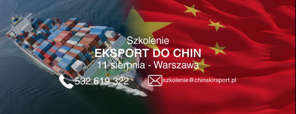 szkolenie eksport do chin, kraju miliarda konsumentów