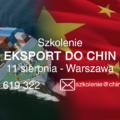 szkolenie eksport do chin