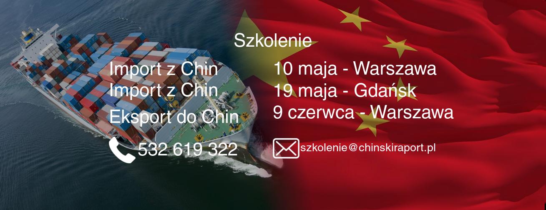 eksport do chin - szkolenia 2017