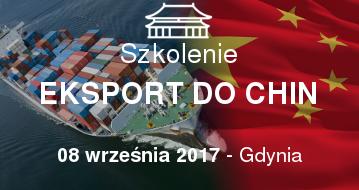 Eksport do Chin - Szkolenie