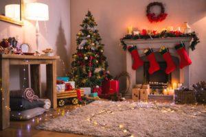 import dekoracji świątecznych