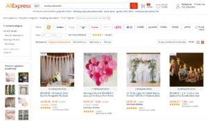 import akcesoriów ślubnych z Chin