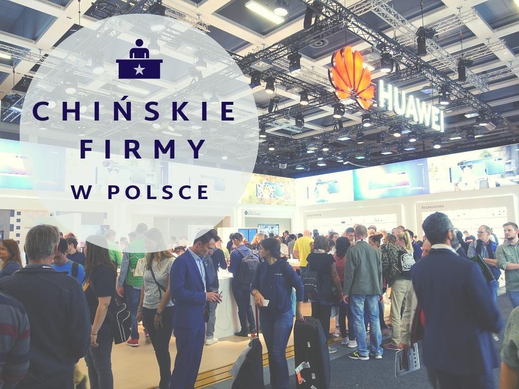 chińskie firmy w Polsce