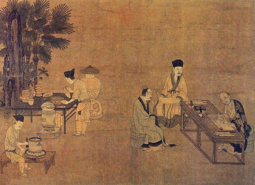 herbata w Chinach