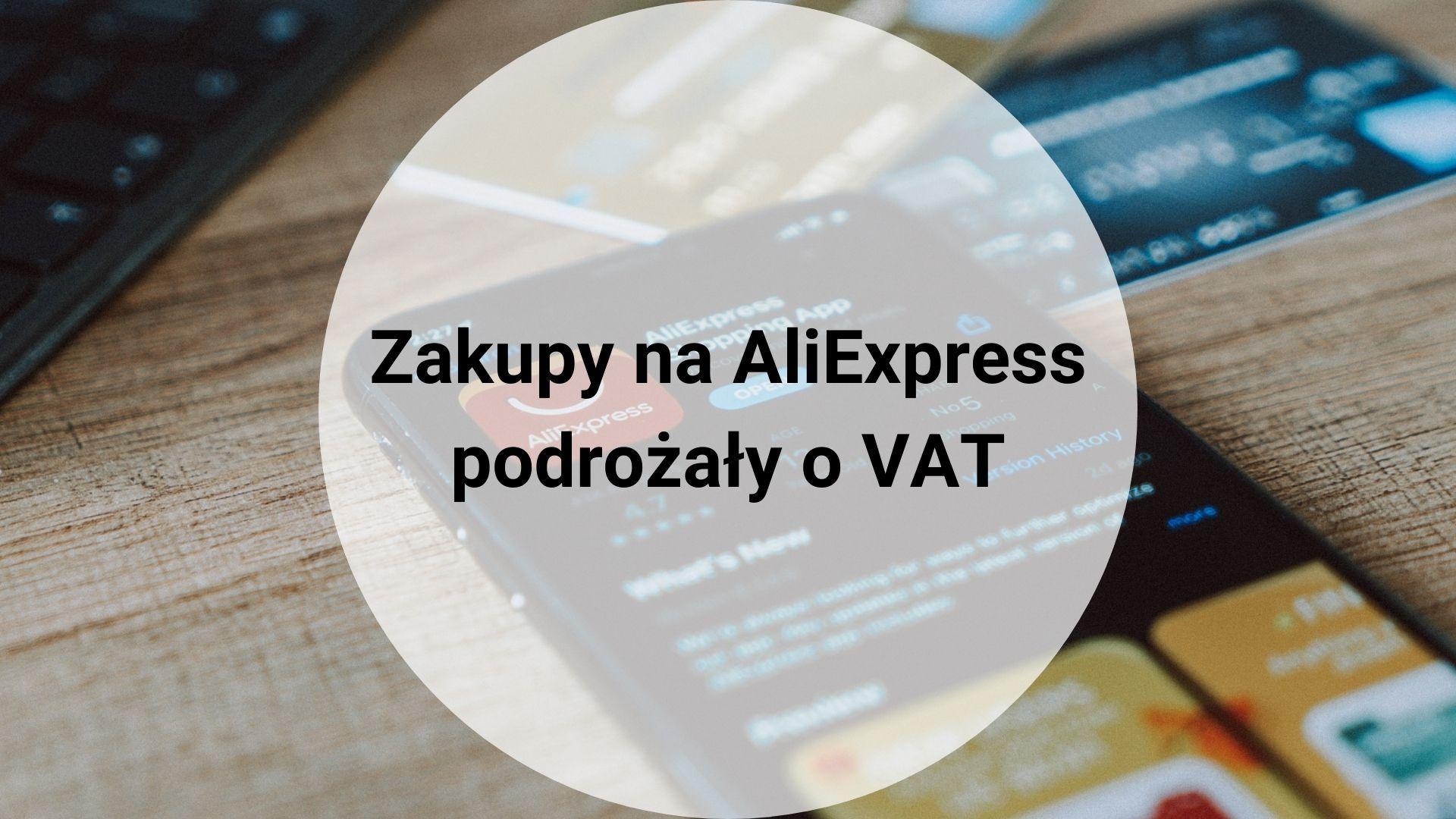 AliExpress podatek VAT
