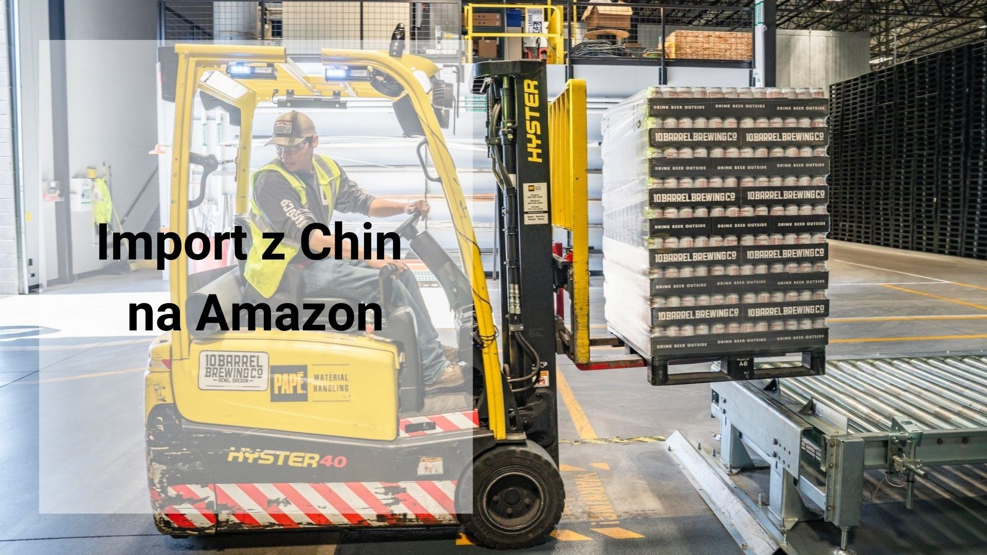 Import z Chin na Amazon