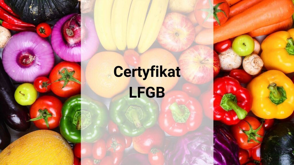 Certyfikat LFGB
